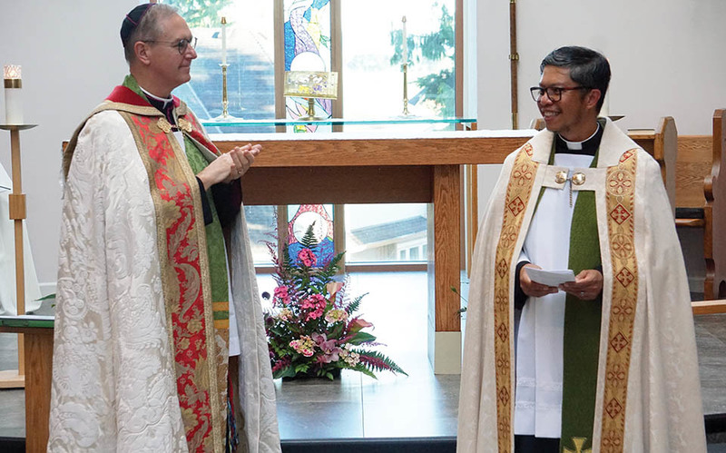 Celebration of a New Ministry at Christ the Redeemer, Cloverdale