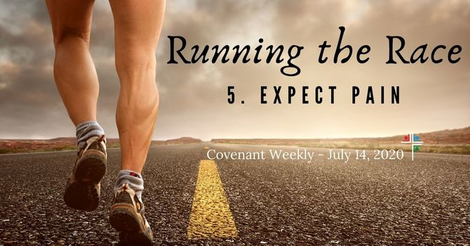 Running the Race: Expect Pain image
