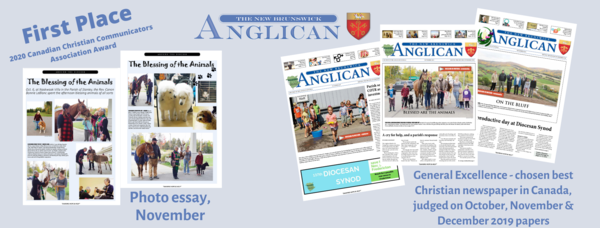 NB Anglican scores big at annual awards ceremony