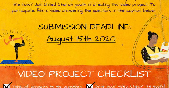 Youth and Young Adult Video Project
