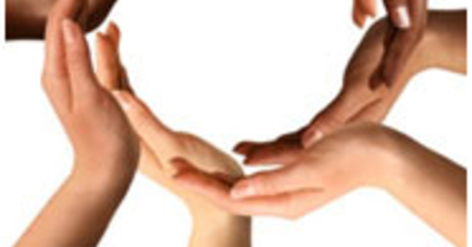 PUT PEACE INTO EACH OTHER'S HANDS image