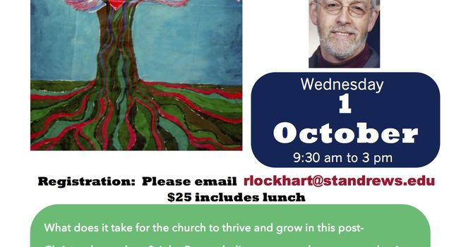 Roots and Wings - Being Church in the 21st Century image