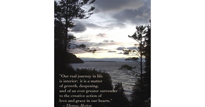 Introduction to Centering Prayer at St Hilda's, Sechelt image