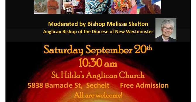Bishop Melissa to Moderate Art and Spirit Workshop and Forum in Sechelt image