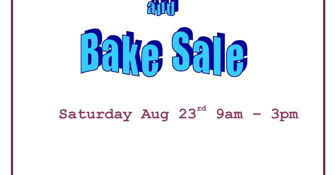 Garage and Bake Sale at All Saints, Burnaby image
