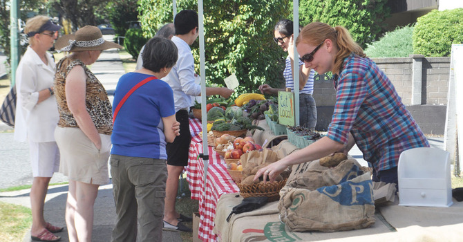 St. Augustine's Hosts Street Market – Summer of 2014 image