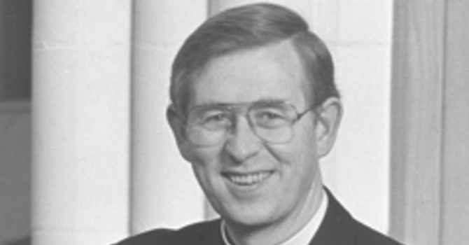 Profile: Archdeacon Robert Daniel MacRae, Rector of St. John the Divine 1977-1997  image