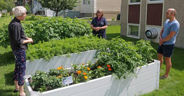 Blessing of St. David's Community Garden