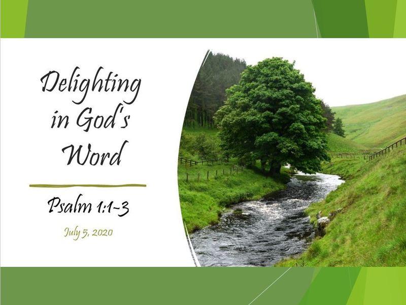 Delighting in God's Word