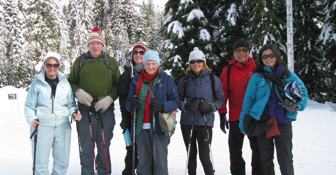 Family Day Snowshoe  image