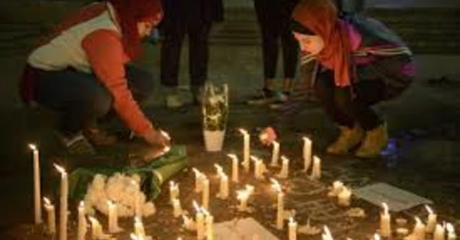 Our sympathy and prayers for our Muslim brothers and sisters image