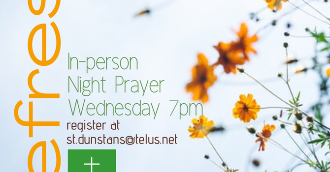 August 19th In-Person Night Prayer