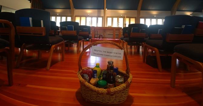 June Food Donations for Shelbourne Community Kitchen image