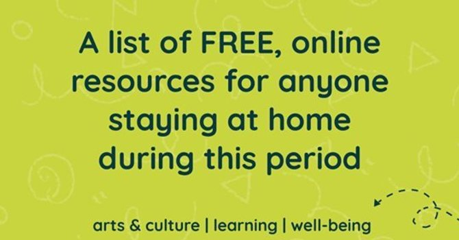 A list of free, online, boredom-busting resources! image