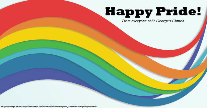 Pride Week in the Anglican Church image