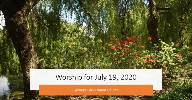 WORSHIP JULY 19 - A TIME FOR DREAMING