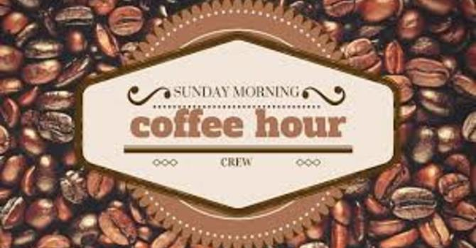 Coffee Hour Hosts Needed image