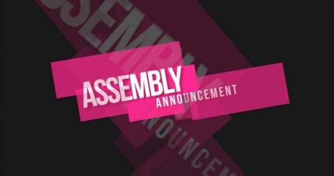 COGOP - 101st International Assembly