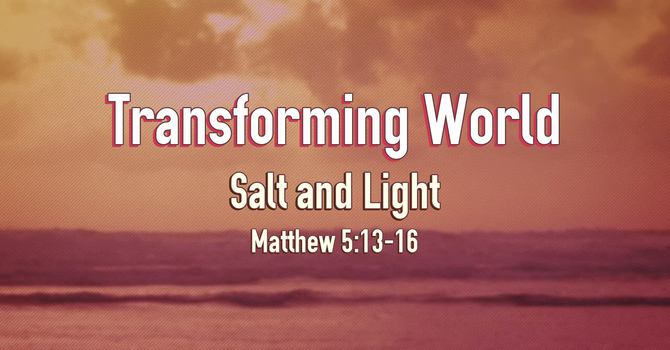 Transforming World - Salt and Light image