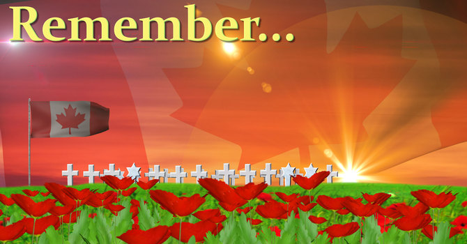 Remembrance Sunday-Reservations required
