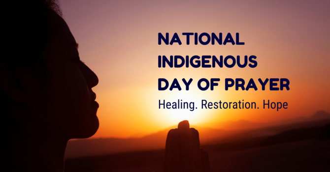 National Indigenous Day of Prayer