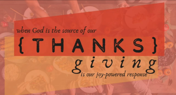 {THANKS} giving