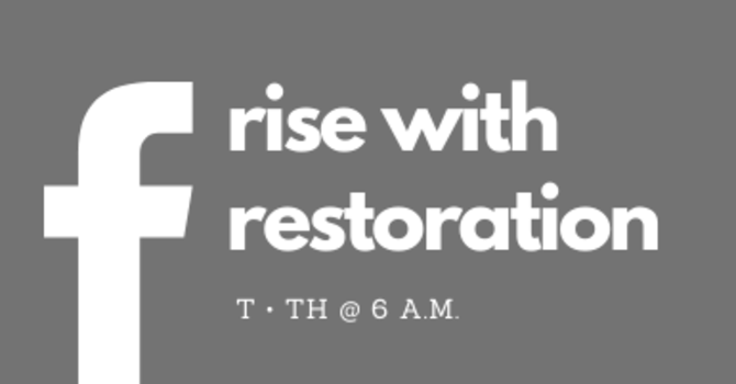 Rise With Restoration: Christian Disciplines