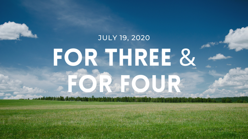 For Three & For Four