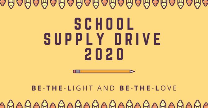 School Supply Drive 2020