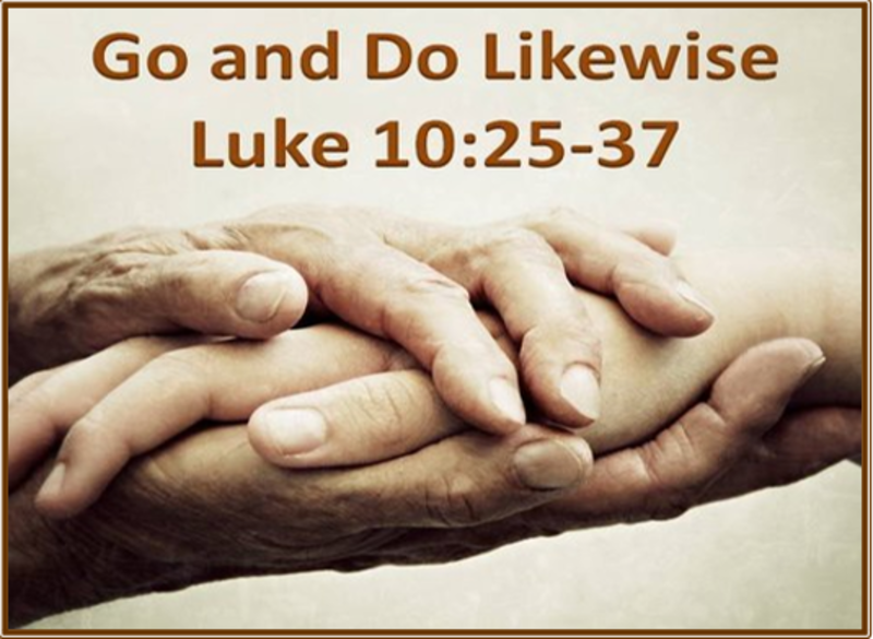 Go and Do Likewise - Dr. Ross Lockhart(Worship Tab)