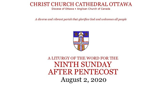 Online service for the Ninth Sunday after Pentecost