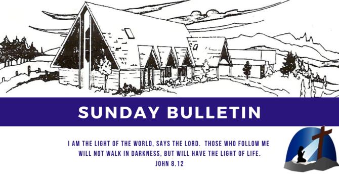 Bulletin - Sunday, February 10, 2019 image