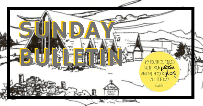 Bulletin - Sunday, January 27, 2019 image