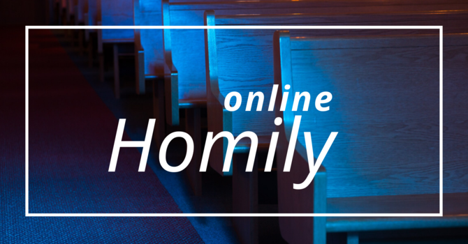 NEW! HOMILY NOW ONLINE image
