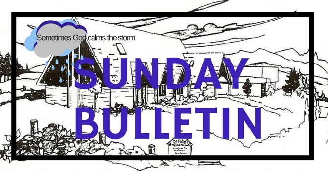 Bulletin - January 6 2019 image