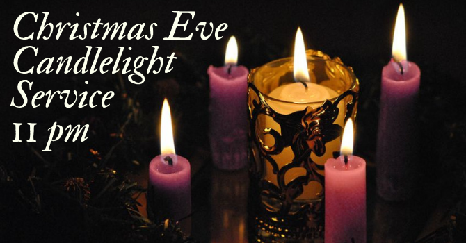 Bulletin - Christmas Eve Candlelight service image