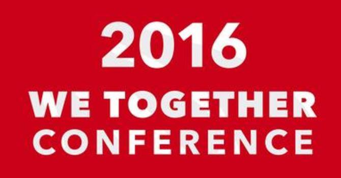 We Together Conference - October 29, 2016 image