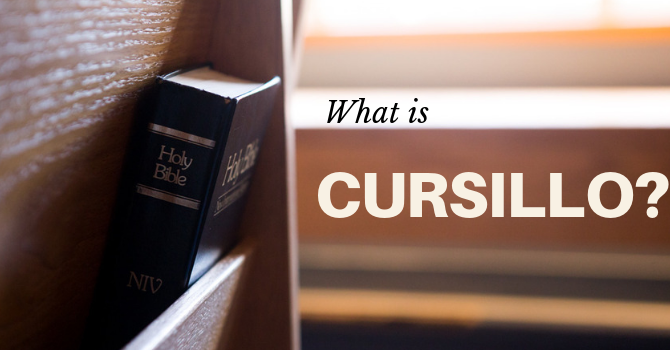 What is Cursillo? image