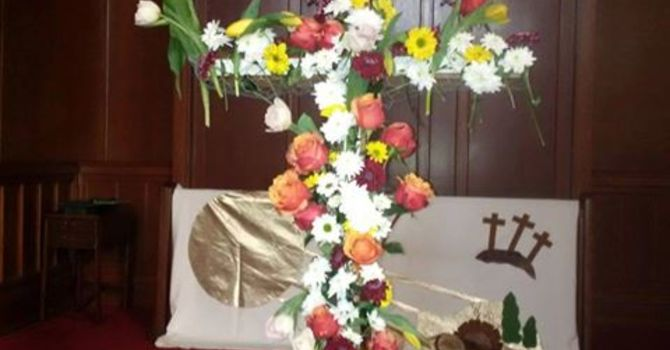 Our Beautiful Easter Cross image