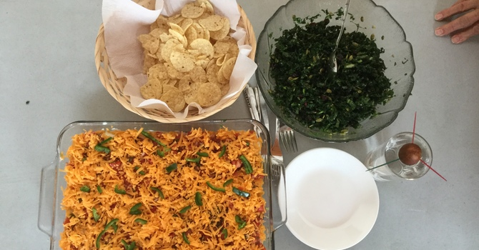 Janis' Kitchen - Mexican Dip and Kale Salad image