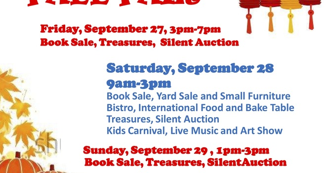 Fall Fair, Sept 27-29  image