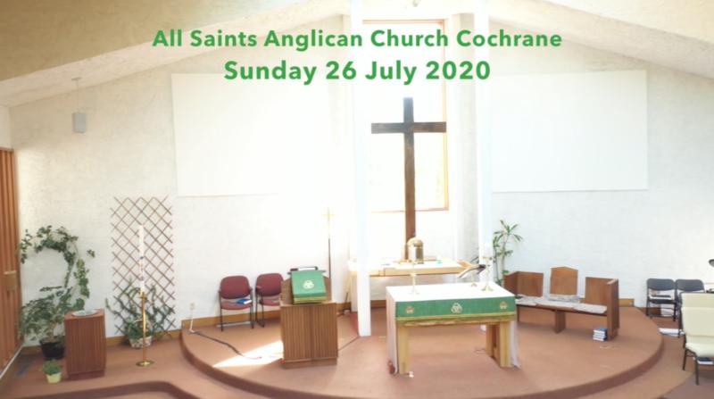 Eucharist Service July 26