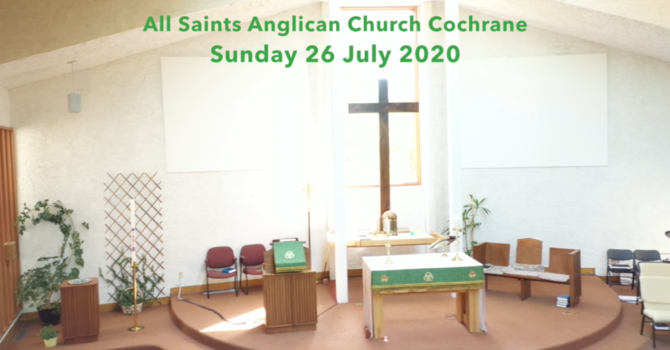 Eucharist Service July 26