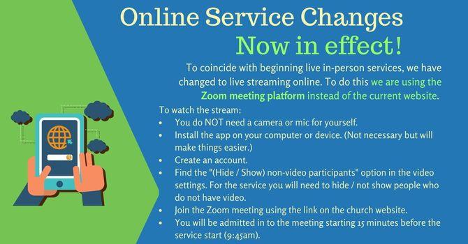 Live Service on Sundays at 10am!