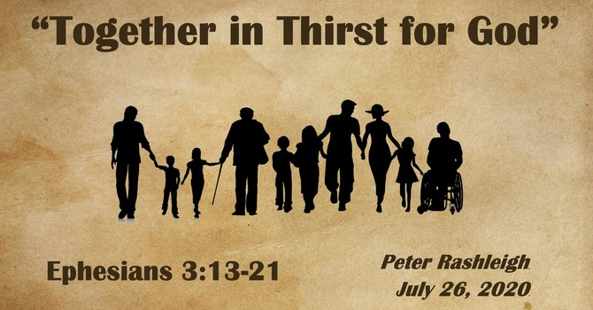 Together in Thirst for God
