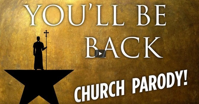 "Dancing Priest Does Hamilton ""You'll Be Back"" image"