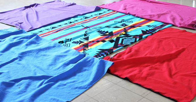St. Luke's Blanket Exercise image