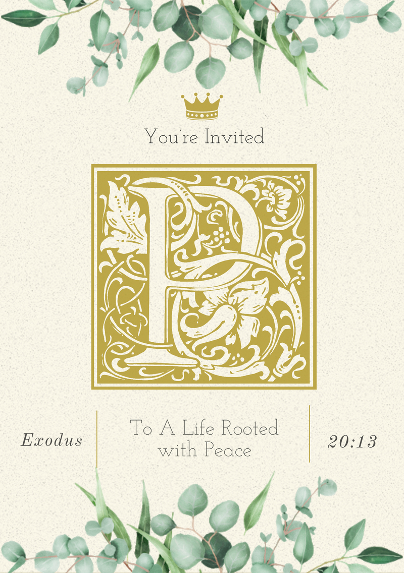 You're Invited to Peace