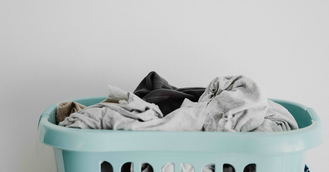 after the vacation, the laundry