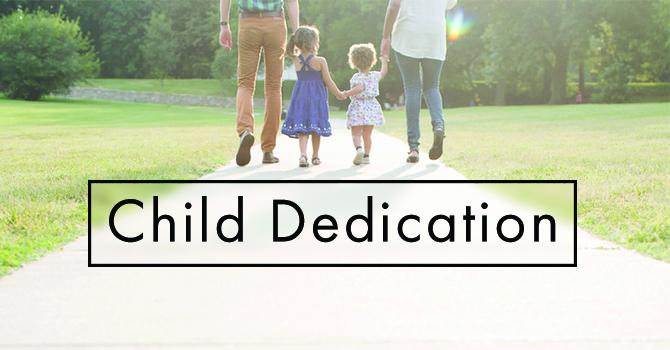 Child Dedication  image